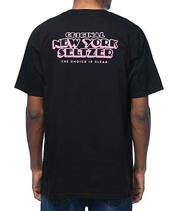 HUF X Original New York Seltzer Black T-Shirt