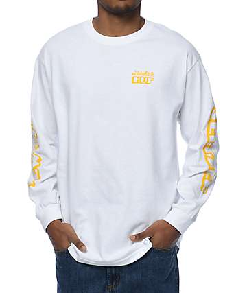 HUF X Original New York Seltzer White Long Sleeve T-Shirt