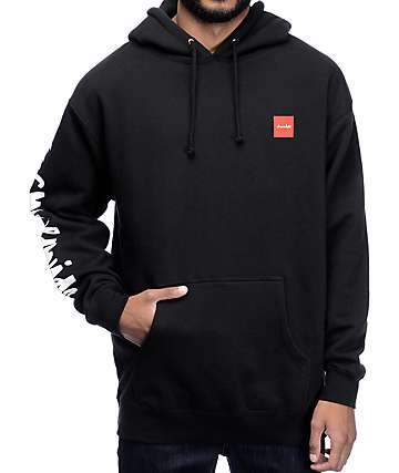 HUF x Chocolate Chunk Worldwide Black Hoodie