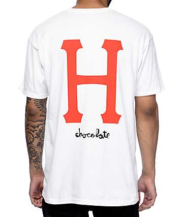 HUF x Chocolate Classic White T-Shirt