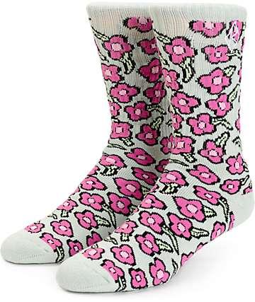 HUF x Krooked Tarragon Crew Socks