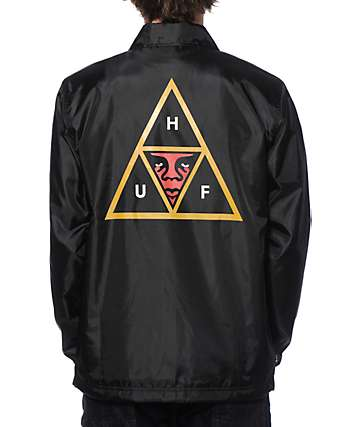 HUF x Obey Coach Jacket
