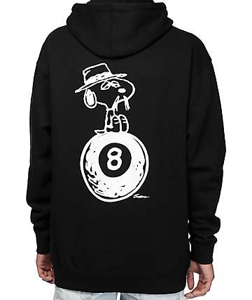 HUF x Peanuts Black Hoodie