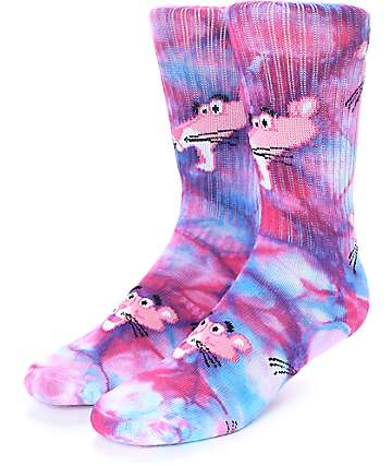HUF x Pink Panther Tie Dye Crew Socks