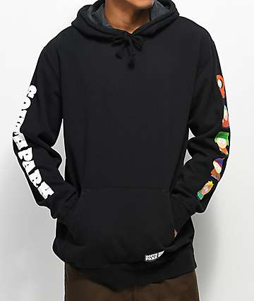 HUF x South Park Cast Black Hoodie