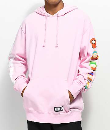HUF x South Park Cast Pink Hoodie