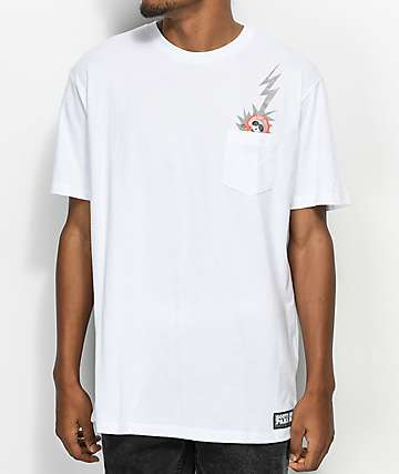 HUF x South Park Dead Kenny White Pocket T-Shirt