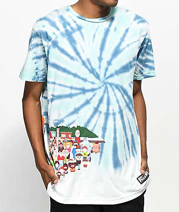 HUF x South Park Opening Tie Dye T-Shirt