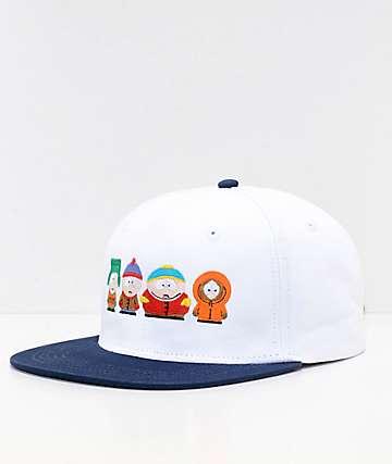 HUF x South Park White Strapback Hat