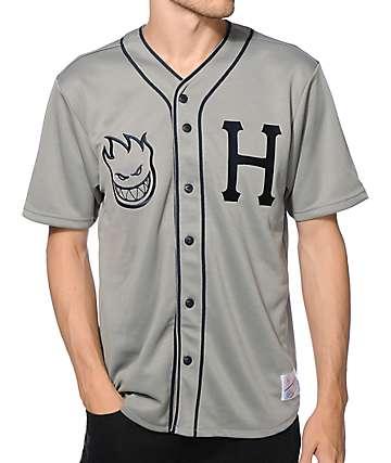 HUF x Spitfire Baseball Jersey