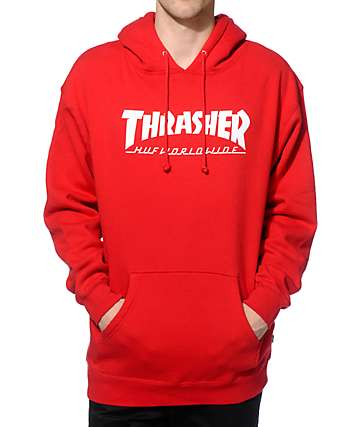 HUF x Thrasher Classic H Hoodie