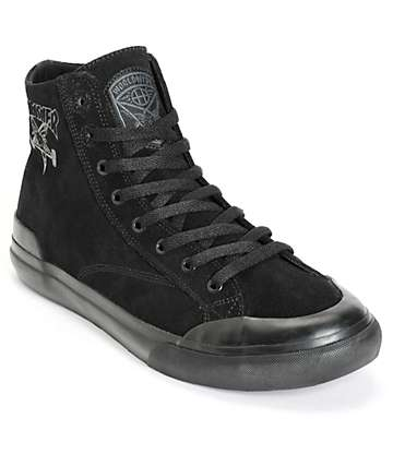 HUF x Thrasher Classic Hi Skate Shoes