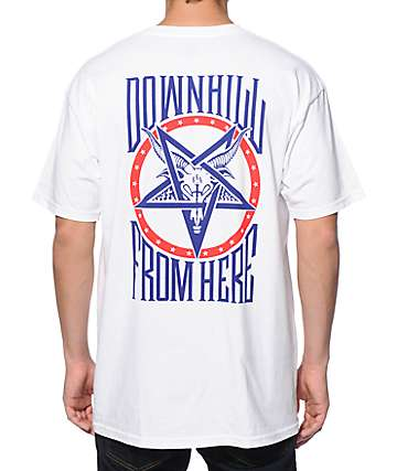 HUF x Thrasher Downhill From Here T-Shirt
