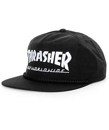 HUF x Thrasher Logo Snapback Hat