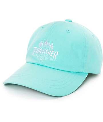 HUF x Thrasher Polo gorra de béisbol en menta
