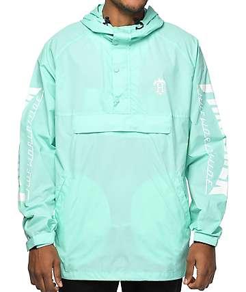 HUF x Thrasher TDS Mint Anorak Jacket