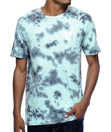 HUF x Thrasher TDS Mint Crystal Wash T-Shirt