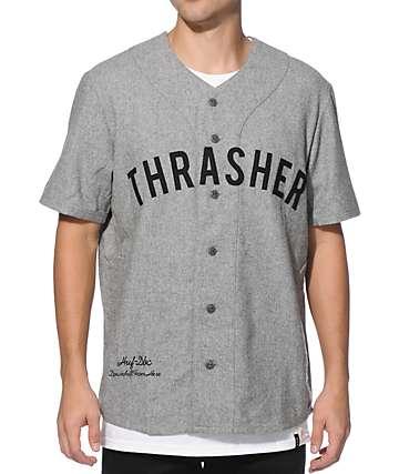 HUF x Thrasher Vintage Baseball Jersey