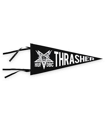 HUF x Thrasher Vintage Felt Pennant