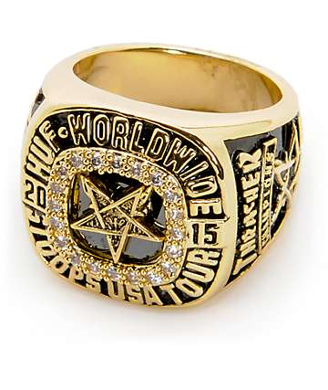 HUF x Thrasher World Champs Ring