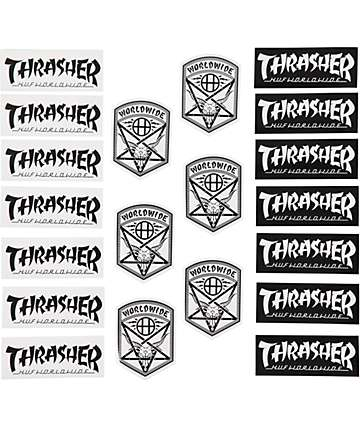 HUX x Thrasher Sticker Pack
