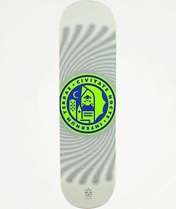 "Habitat Gall Hell City 8.625"" Skateboard Deck"