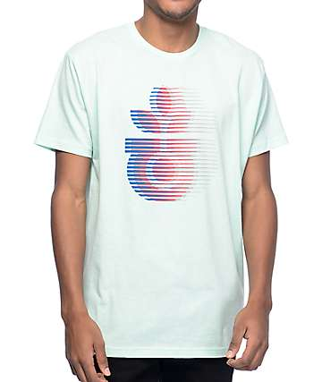 Habitat Leaf Motion Teal T-Shirt