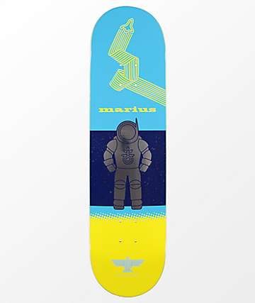"""Habitat Marius Finn In Space 8.25"""" Skateboard Deck"""