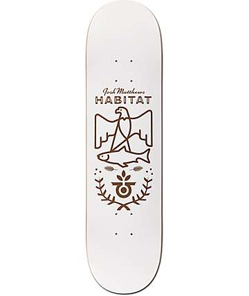 "Habitat Matthews Wood Grain 8.25"" tabla de skate"