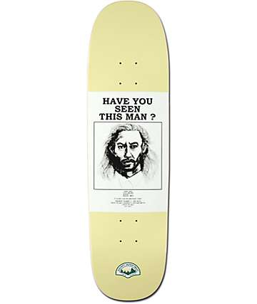 "Habitat Twin Peaks Have You Seen Bob 8.5"" Skateboard Deck"