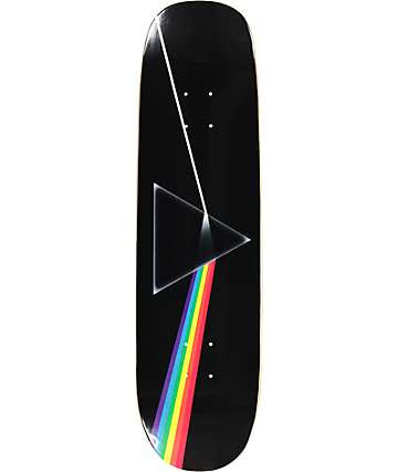 "Habitat x Pink Floyd Dark Side Of The Moon 8.375"" Cruiser Skateboard Deck"