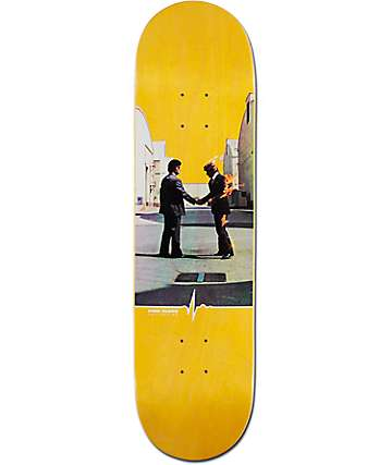 "Habitat x Pink Floyd Dark Wish You Were Here 8.25"" Skateboard Deck"