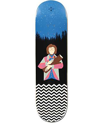 "Habitat x Twin Peaks Log Lady 8.37"" tabla de skate"