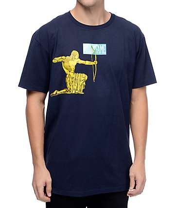 Hall Of Fame Archer Navy T-Shirt