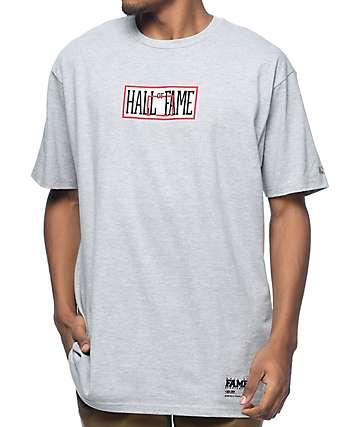 Hall Of Fame Backboard Heather Grey T-Shirt
