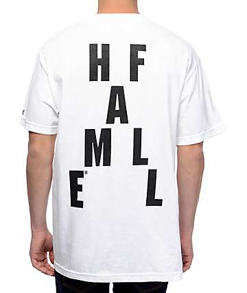 Hall Of Fame Crossplay camiseta blanca con bolsillo