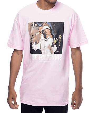 Hall Of Fame Crypt Light Pink T-Shirt