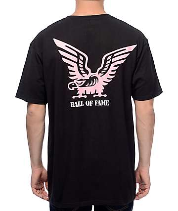 Hall Of Fame Eagle Black T-Shirt