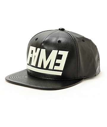 Hall Of Fame Jumble Glow In The Dark Snapback Hat