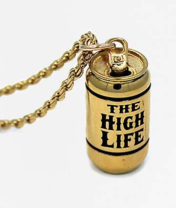 Han Cholo The Highlife Gold Pendant Necklace