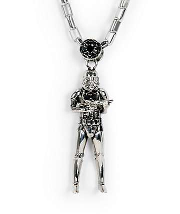 Han Cholo x Star Wars Stormtrooper Pendant Necklace