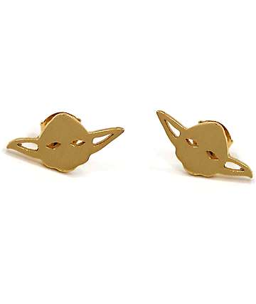 Han Cholo x Star Wars Yoda Stud Earring