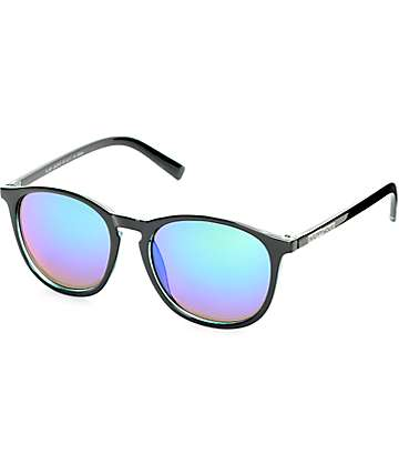 Happy Hour Flap Jacks Black Sunglasses