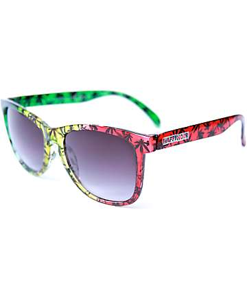 Happy Hour High Times Rasta Sunglasses