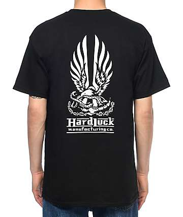 Hard Luck Hard Bond Black T-Shirt