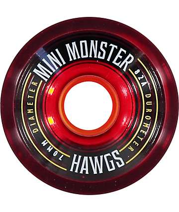 Hawgs Mini Monsters 70mm 82a Longboard Wheels