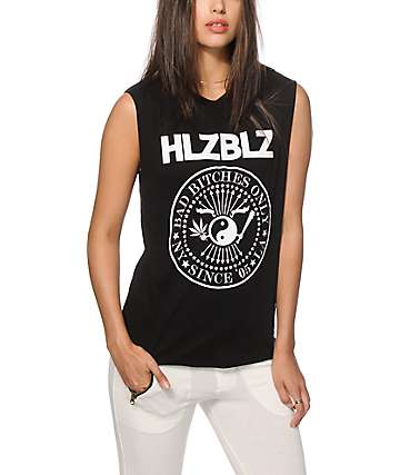 Hellz Bellz Bad Bitches Muscle Tank Top