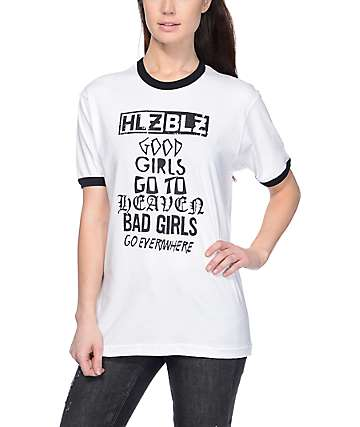 Hellz Bellz Bad Girls Ringer T-Shirt