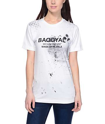 Hellz Bellz Badgyal Spray Paint T-Shirt