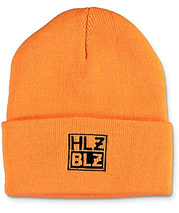 Hellz Bellz Box Logo Orange Beanie